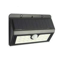 ingrosso luci a energia solare verde-20 LED Solar Powered Lampada a prova di intemperie LED verde senza fili Lampada da parete per giardino Esterno Patio Uso del vialetto