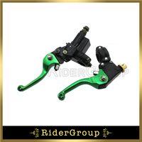 Wholesale Brake Lever Master Cylinder - Green Hydraulic Brake Master Cylinder Lever For KLX Coolstar Thumpstar SSR Pit Bike