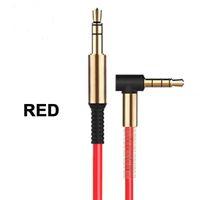 mp3 usb cord aux оптовых-Алюминиевый сплав автомобилей Aux кабели 3,5 мм между мужчинами прямоугольный автомобиль вспомогательный аудио кабель шнур для телефона MP3 стерео cab273