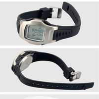 Wholesale electronic football resale online - Coach Wrist Watch Football Electronics Stopwatch Timer Major High Accuracy Flexible Big Button Metal Clasp Easy Carry ys cc
