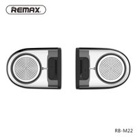 Wholesale Remax RB M22 TWS speaker bluetooth mini speaker with magnet transparent design portable wireless bluetooth hifi speaker