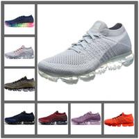 Wholesale High Fashion Shoes For Women - Running Shoes Vapormax Mens Running Shoes For Men Sneakers Women Fashion Athletic Sport Shoe Corss Hiking Jogging Walking Outdoor Shoe