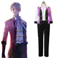 Wholesale Ice Man Costume - Cosplay Victor Costume Yuri on Ice Victor Nikiforov full set Uniform Suit Cosplay Costume party Halloween Carnival for adult