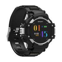 ingrosso gps esterno android ip67-GPS Smart Watch F7 Impermeabile IP67 Monitoraggio della frequenza cardiaca Multisport Outdoor 4.2 Smartwatch per Android ios