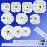 Wholesale replacement meter - led ceiling light remould 12W 20W 24W led light module easy replacement with Magnet,white warm white doulbe colour
