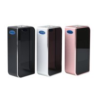 ingrosso touch box mod-Originale Sigelei T150 TC Box MOD e sigaretta 150W box mod Vape Fashion Touch screen control Supporto Dual 18650 Batteria