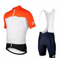 Wholesale sky teams for sale - Group buy 2019 POC bicycle riding clothes fast dry sky team wearing short sleeved tight clothes bicycle Sweatshirt back pants cycling skinsuit