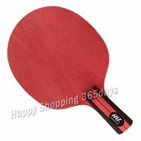 rote tischkristalle großhandel-HRT Red Crystal Carbon Tischtennisschläger