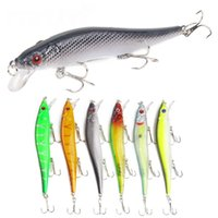 Wholesale minnow lure pike resale online - Minnow Fishing Lures Hard Bait cm g Jig Wobblers Bass Pike Lure Plastic Artificial Baits for Fishing Tackle Crankbait