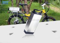 Wholesale bike battery rack for sale - Group buy High quality ebike battery v ah rear rack battery for W W electric bike battery with A BMS for Bafang BBS02 BBSHD