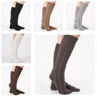 9c31118bb Wholesale thick thigh high socks for sale - Women Wool Socks Girls Thigh  High Acrylic Long