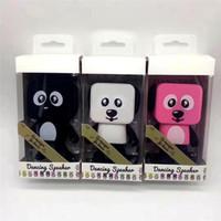 en iyi kablosuz mp3 çalar toptan satış-Mini Dans Köpek Bluetooth Hoparlör Taşınabilir Kablosuz Subwoofer Stereo Müzik Çalar Mic Perakende Kutusu Ile Çocuklar Için En Iyi Hediye Daha Iyi Şarj 3
