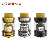 Wholesale direct e cig resale online - Original Ehpro Bachelor X RTA ml with Adjustable bottom up direct airflow control E cig RTA