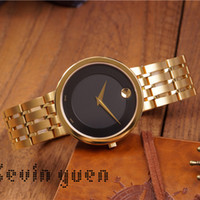 Wholesale geneva watches for sale - Speck Round New Watches Mens Luxury Brand Geneva Classic Casual Quartz Wrist Watch Analog Stainless Steel Ultra Thin Wrist Watch Designer