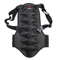 schwarze sicherheitswesten großhandel-Abnehmbare Skisportweste Schutz Skirüstung Rückenschutz Wirbelsäulenschutz Neueste Black Sport Sicherheit