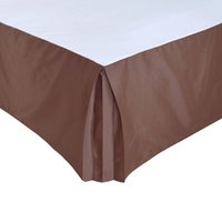 Wholesale bedding for queen size beds online - Hotel Bed Skirt Bed Cover Two Uses Thick Poly Cotton Canvas Skirt for King Queen Size With quot Drop Hotel Line