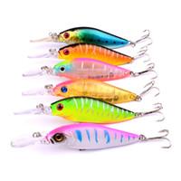 Wholesale lure lip for sale - Group buy Long Lip Artificial Plastic Minnow Fishing Lure g cm colors Shallow Swimming Wobbler Laser Bait Freshwater Crankbaits