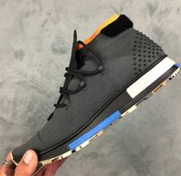 Wholesale Mechanics Wear - men RUN MID anti-skid wear-resistant large-soled knitted fashion socks shoes,Popular rainers Gym Jogging,Discount cheap Running Sport Boots