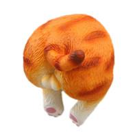 burro dos desenhos animados venda por atacado-1 pc New Home Decoração Dos Desenhos Animados Gato Ass Geladeira Imã de geladeira Animal Gato Designs Magnetic Stickers