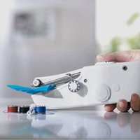 Wholesale Mini Portable Electric Sewing Machine - Electric Handheld Sewing Machine Mini Handy Stitch Portable Needlework Cordless Handmade DIY Tool Clothes Portable Household