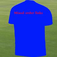 Wholesale custom black football jerseys - Wholesale mix order custom logo soccer jerseys kids kit women children pay links Uniform Fans player version Shirts Football shirt Jersey.