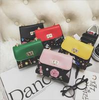 Wholesale handmade bags purses - Vieeoease Girls Ball Bag Cute Mini Chain Bag Purse 2018 Spring Fashion Handmade Bow Kids Crossbody Bag EE-127