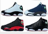 Wholesale mens winter boots size 12 - 2017 Cheap 13 XIII Mens Basketball Shoes Black Red High Quality Men Outdoor 13s Sports Shoe Trainers Boots Athletic Sneakers Size US 7-12