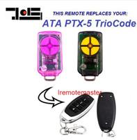 cambio de código remoto al por mayor-Alta calidad para ATA PTX-5v1 Triocode Rolling Code reemplazo remoto envío gratis 433.92 mhz
