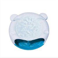 ingrosso fontana elettrica-USB Automatico Pet Dog Cat Water Fontanella Alimentatore Pet Bowl Dispenser per piatti Accreate Pet Dog Cat Sano Hygiene Electric Fountain