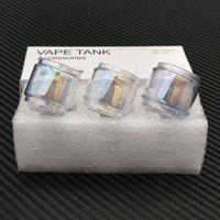 blasenrohrbeleuchtung groihandel-Fat Boy Pyrex Birne Light Rainbow Color Ersatzglasröhre für Captain x3 Diamond Subohm TFV12 Prince