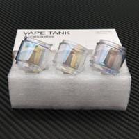Wholesale light bubbles resale online - Fat Boy Pyrex Bulb Light Rainbow Color Replacement Bubble Glass Tube for Captain x3 Diamond Subohm TFV12 Prince