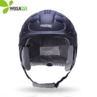 Wholesale red horse riding - PROPRO horse riding ski helmets half-covered men women capacetes de motociclista sports safety hat helmet skiing headwear