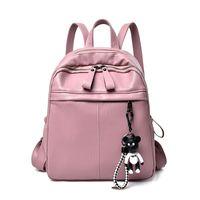 mochila cor-de-rosa venda por atacado-Atacado Espanha Urso Mulheres Mochila para Adolescentes Meninas Saco de Escola De Luxo Designer de Mulheres Saco Rosa Mochila Feminina Moda Mulheres Mochilas