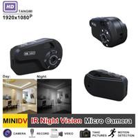 полный hd видеокамеры cmos оптовых-New 1080P Full HD Portable Audio Video Mini Camera Secret Motion Detection with Night Vision Camcorder Best Espia Nanny Cam
