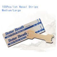 anti-horlama burun şeritleri toptan satış-Burun Şeritler Anti Horlama Yamalar Uyku Iyi Sağ Yardım Durdur Horlama Daha Iyi Nefes Uyku Sağlık Geliştirmek