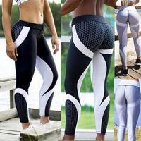 Wholesale long skinny yoga pants - Women Girls Gym Long Pants Fashion Trousers Joggers Running Pant Skinny Pencil Pants Exercise Workout Yoga Long Leggings