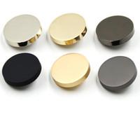 ingrosso buttons-bottone d'oro come compenso della spedizione buon prodotto buon prezzo