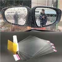 espelho anti nevoeiro venda por atacado-Nova tecnologia anti-fog anti-reflexo do carro espelho retrovisor tampa da película protetora à prova d 'água Substituição Da Membrana com preço de fábrica