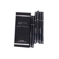 eye-liner durable achat en gros de-HOT haute qualité maquillage NYX Cosmetics Skinny Eye Marker Étanche Noir Liquide Eyeliner Eye-Liner Crayon Long Lasting