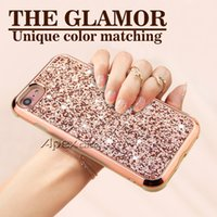 Wholesale iphone case - The Glamor in Slim Hybrid Glitter Case For iPhone X S Plus Samsung S9 Plus