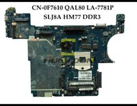 Wholesale intel hm77 motherboard for sale - QAL80 LA P For Dell Insprion E6430 Laptop Motherboard CN F761C F761C SLJ8A HM77 PGA989 DDR3 Fully Tested