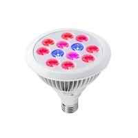 yüksek güçte büyüyen ışıklar toptan satış-LED Büyüyen Işıklar E27 12 W 24 w LED Bitki Büyümek Yüksek Güç Ampul Kapalı Bitkiler Büyüme CE ROHS Sertifikalı Sertifikalı Işıkla ...