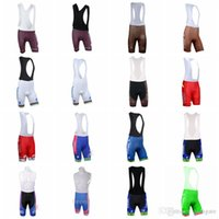 Wholesale lampre team clothes online - LAMPRE AG2R team Cycling Shorts Bicycle Bib Short Pants Gel Padded Racing Sport Quick Dry Lycra MTB Bike Clothing D1907