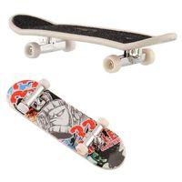Wholesale mini brain - Finger Skateboard Deck ABS Plastic Children puzzle Brain DevelopmentMini Board Tech Boys Games Toy Gift Present