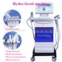 oksijen cilt bakımı toptan satış-Spa yüz hydra mikrodermabrazyon Hydra cilt bakım makinesi oksijen sprey hidro su mikrodermabrazyon bakımı cilt gençleştirme makinesi