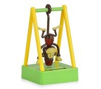 ingrosso bambole di decorazione della scimmia-Auto Ornamento ABS Altalena Scimmia Solar Powered Car Dashboard Decorazione Ornamento Cute Home Decor Bambini Giocattolo per bambini Accessori regalo