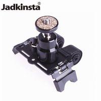 klammer blinkt großhandel-Kamera Halterung Halter mit 1/4 Kugelkopfhalterung auf Motor Fahrrad für kleine DSLR Kamera Blitz Fotografie Zubehör
