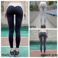 Wholesale women sportwear yoga pants online - New Women Nice Leggings High Quality Thin Sports Yoga Pants Fitness Running Long Trousers Legging Tight Sportwear GGA130