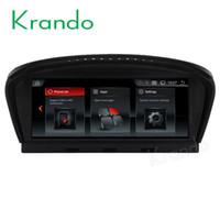 7 'gps navigasyon toptan satış-Krando Android 7.1 8.8 '' BMW 5 Serisi E60 için gps eğlence ile araba dvd ses 2005-2010 navigasyon multimedya oynatıcı