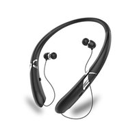 einziehbares bluetooth großhandel-HX965 Wireless bluetooth headset Retractable Nackenbügel Sport Wireless Earbuds Stereo Noise Cancelling Headsets mit Mikrofon Bluetooth Kopfhörer